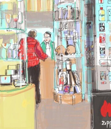 Art in the Market - Artist in Residence